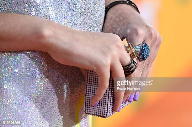 Lilimar Hernandez attends Nickelodeon's 2016 Kids' Choice Awards at The Forum on March 12 2016 in Inglewood California