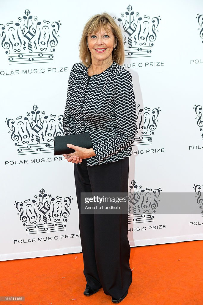 Lill Lindfors attend Polar Music Prize at Stockholm Concert Hall on August 26, 2014 in Stockholm, Sweden.