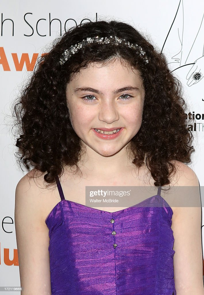 Lilla Crawford attends the 5th Annual National High School Musical Theater Awards at Minskoff Theatre on July 1, 2013 in New York City.