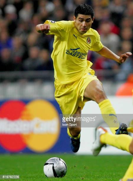 RIQUELME Lille / Villareal 1er tour Champions League Stade de France