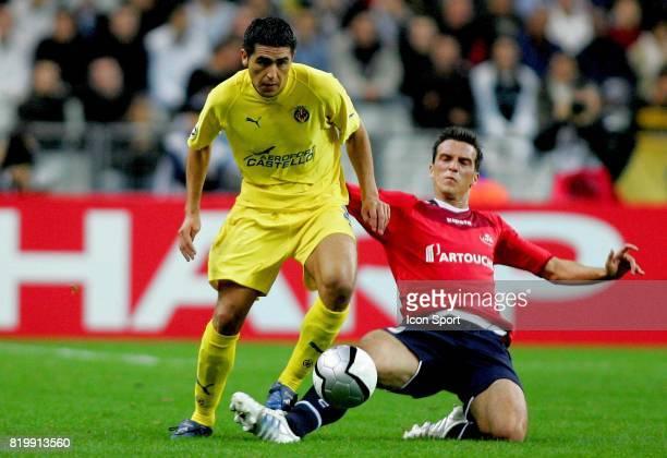 RIQUELME Lille / Villarreal 1er tour Champions LEague Stade de France