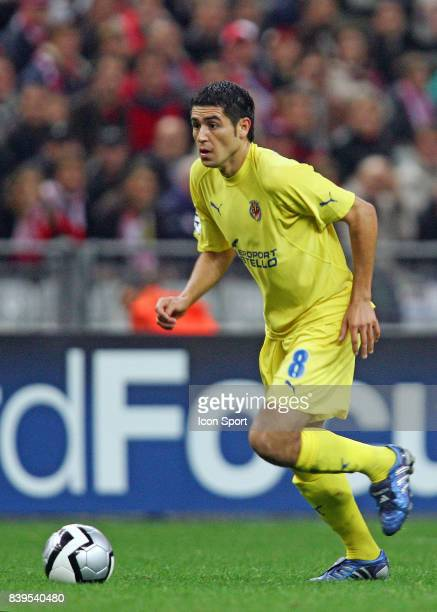 RIQUELME Lille / Villarreal 1er tour Champions League Stade de France