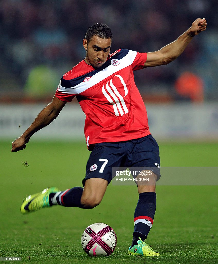 Lille s French forward Dimitri Payet kic