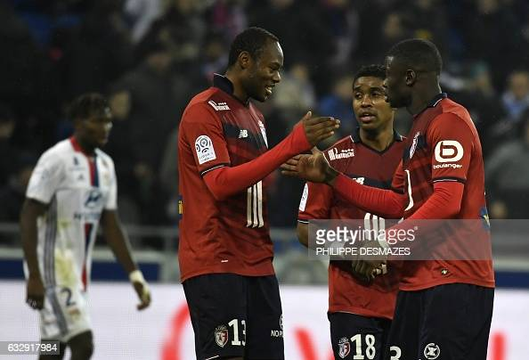 FBL-FRA-LIGUE1-LYON-LILLE : News Photo