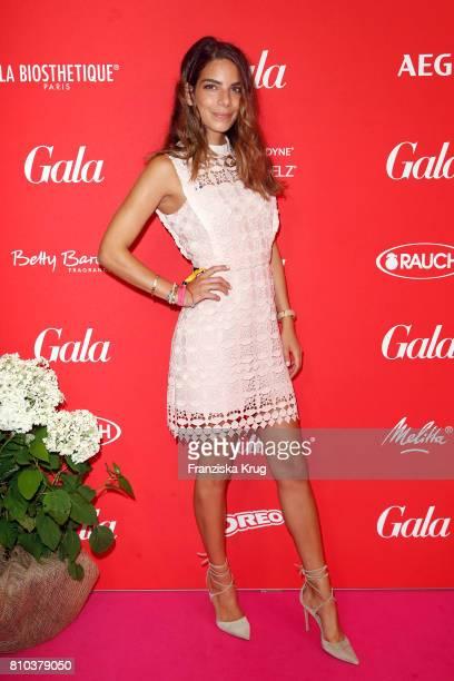 Lilli AdlerHollunder attends the Gala Fashion Brunch during the MercedesBenz Fashion Week Berlin Spring/Summer 2018 at Ellington Hotel on July 7 2017...