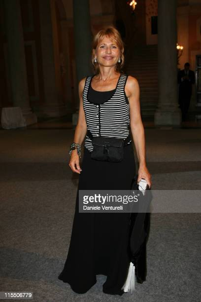 Lilli Gruber during The 63rd International Venice Film Festival Gucci Group Award at Palazzo Grassi in Venezia Italy