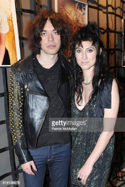 Lillian Berlin and Floria Sigismondi attend THE RUNAWAYS A Gallery Event with FLORIA SIGISMONDI to Benefit STAND UP FOR KIDS at Good Units on March...