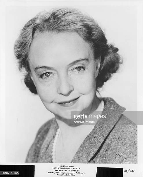 Lillian Gish publicity portrait for the film 'The Night Of The Hunter' 1955