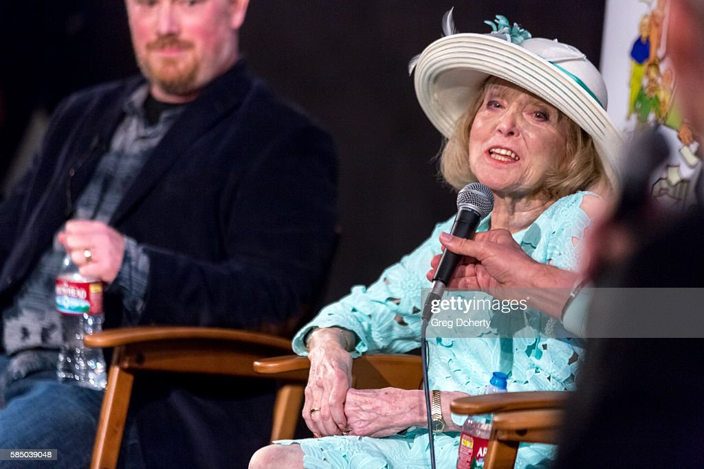 Lillian Michelson during a panel discussion following the Premiere Of 'Harold And Lillian: A Hollywood Love Story' at the Egyptian Theatre on July 31, 2016 in Hollywood, California.