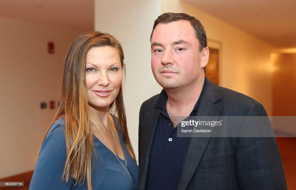 Lilliana Komorowska and Vincent Poulin attend the opening night screening of 'Free Angela' during the 2013 Women's International Film and Arts Festival at Adrienne Arsht Center on March 20, 2013 in Miami, Florida.