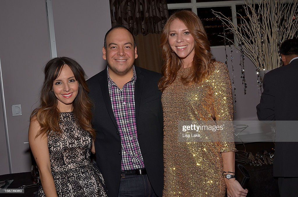 Lilliana Vasquez Jimmy Contreras and Kristin Detterline attend Philadelphia Style Magazine Holiday Issue cover event hosted by Josie Maran on...