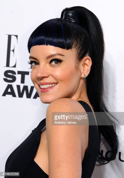 Lilly Allen attends the Elle Style Awards 2014 at one Embankment on February 18 2014 in London England