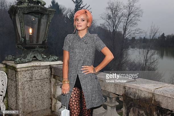 Lilly Allen during the Chanel Metiers d'Art Collection 2014/15 ParisSalzburg on December 2 2014 in Salzburg Austria