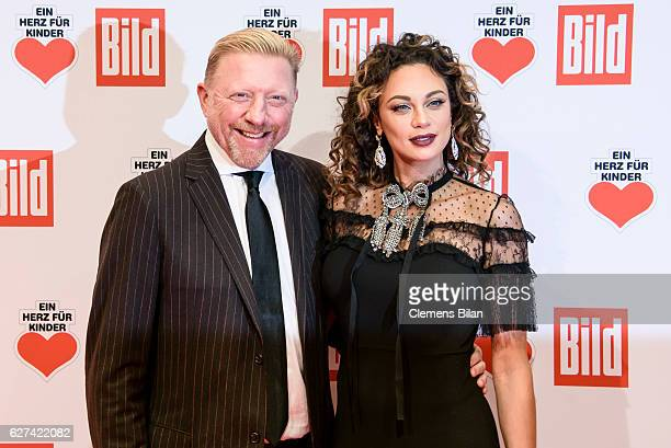 Lilly Becker and Boris Becker attend the Ein Herz Fuer Kinder Gala 2016 on December 3 2016 in Berlin Germany