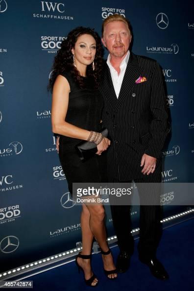 Lilly Becker and Boris Becker attend the Laureus Sport for Good Night 2014 at Bayerischer Hof on September 19 2014 in Munich Germany