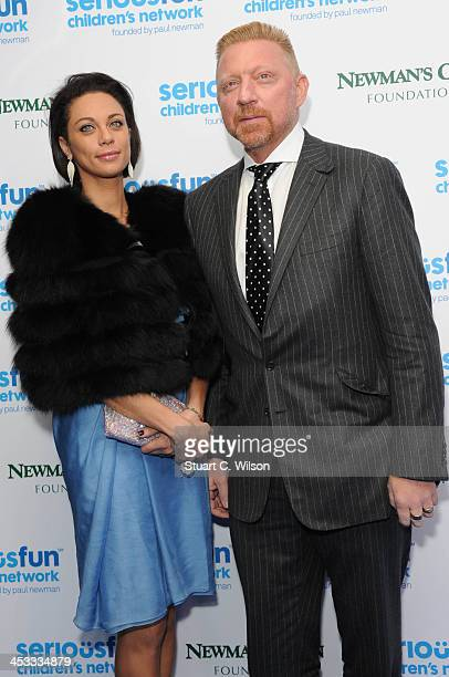 Lilly Becker and Boris Becker attend the SeriousFun London Gala 2013 at The Roundhouse on December 3 2013 in London EnglandThe Serious Fun Children's...