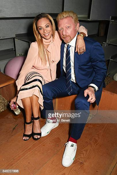 Lilly Becker and Boris Becker attend The Serpentine Summer Party cohosted by Tommy Hilfiger on July 6 2016 in London England