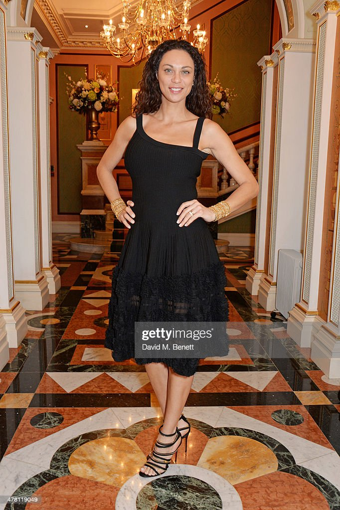 Lilly Becker attends the Caudwell Children Butterfly Ball launch breakfast 2014 at Ancaster House on March 12, 2014 in London, England.