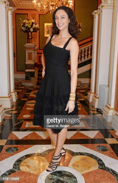 Lilly Becker attends the Caudwell Children Butterfly Ball launch breakfast 2014 at Ancaster House on March 12 2014 in London England