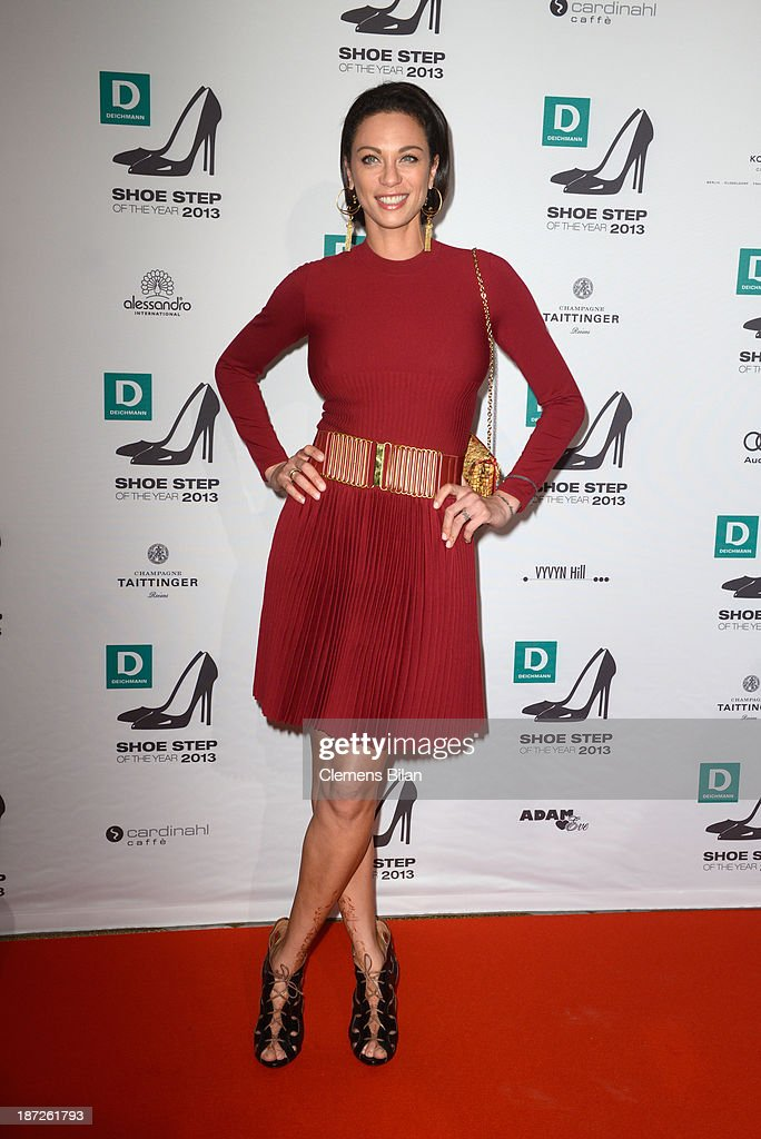 Lilly Becker attends the Deichmann Shoe Step of the Year 2013 at Curio Haus on November 7, 2013 in Hamburg, Germany.
