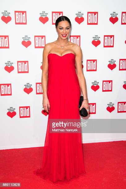 Lilly Becker attends the Ein Herz Fuer Kinder gala on at Studio Berlin Adlershof on December 9 2017 in Berlin Germany