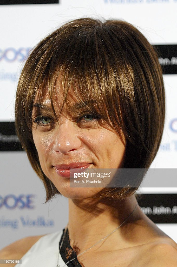 Lilly Becker attends the Grey Goose Winter Ball at Battersea Park on October 29, 2011 in London, England.