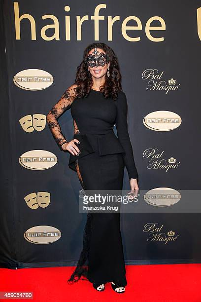 Lilly Becker attends the Hairfree Celebrates 10 Year Anniversary with Bal Masque on November 15 2014 in Darmstadt Germany