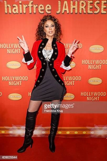 Lilly Becker attends the Hollywood Superhero Fairytale Night hosted by Jens Hilbert on November 26 2016 in Darmstadt Germany