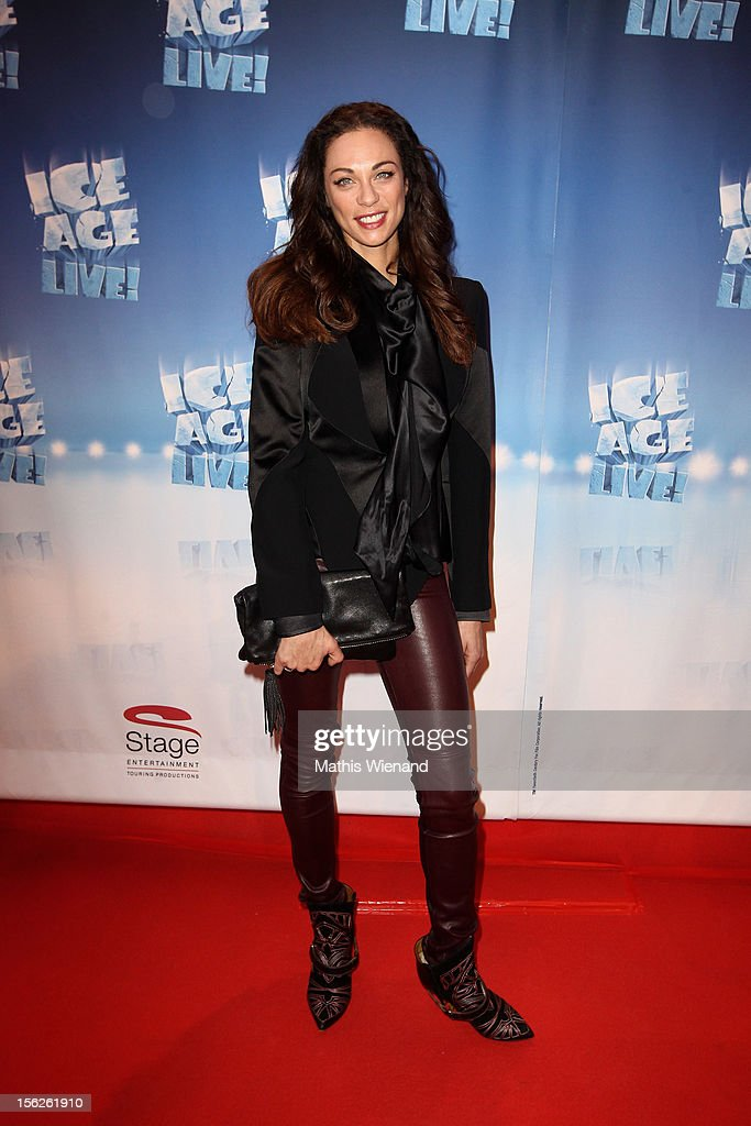 Lilly Becker attends the Ice Age Live! gala premiere at ISS Dome on November 12, 2012 in Duesseldorf, Germany.