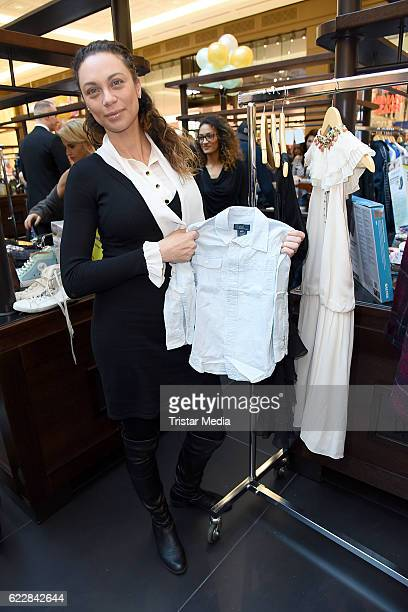 Lilly Becker attends the VIP Flea Market on November 12 2016 in Berlin Germany