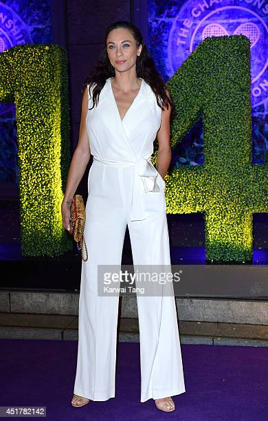 Lilly Becker attends the Wimbledon Champions Dinner at the Royal Opera House on July 6 2014 in London England