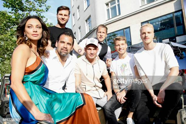 Lilly Becker German presenter Maurice Gajda former DDR soccer player Ulf Kirsten German singer Pietro Lombardi German presenter Oliver Pocher German...