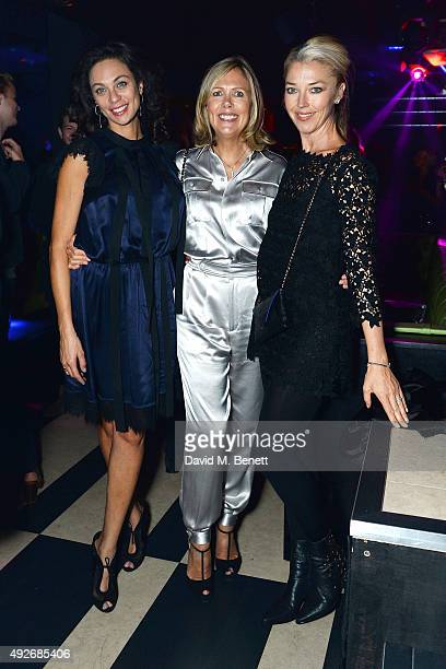 Lilly Becker Juliet Herd Hello Fashion Monthly editor and Tamara Beckwith attend Hello Fashion Monthly's first birthday party at Charlie on October...