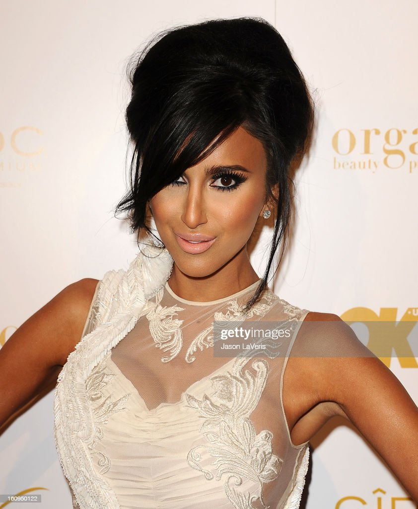 Lilly Ghalichi attends OK! Magazine's pre-Grammy event at Sound on February 7, 2013 in Hollywood, California.