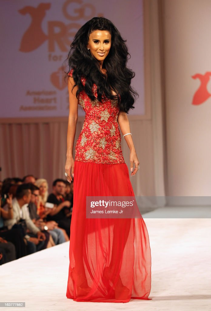 Lilly Ghalichi attends the 2013 Los Angeles Fashion Week - Go Red For Women Red Dress Fashion Show held at the Vibiana on March 14, 2013 in Los Angeles, California.