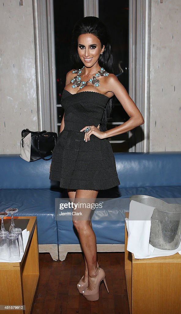 Lilly Ghalichi hosts Avenue Nuit on June 28, 2014 in Long Branch, New Jersey.