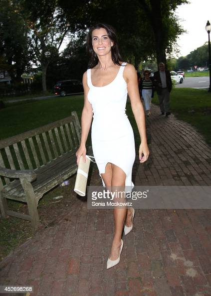 Lilly Hartley attend 'Keep On Keepin' On' screening during the 2014 Hamptons International SummerDocs Series at Guild Hall on July 25 2014 in East...