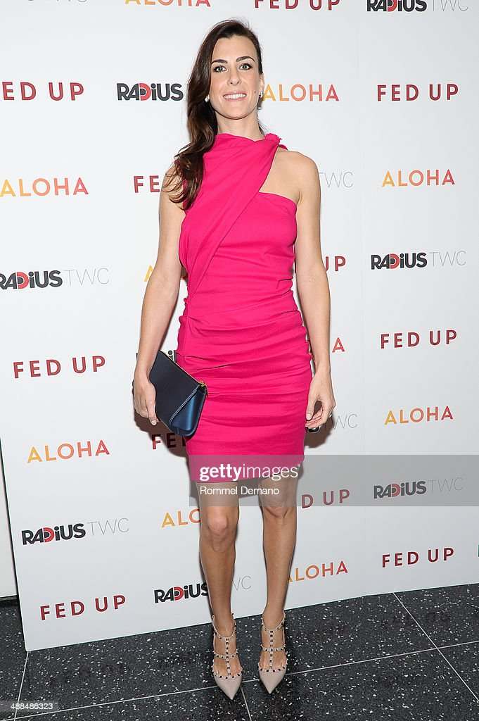 Lilly Hartley attends the 'Fed Up' premiere at Museum of Modern Art on May 6, 2014 in New York City.