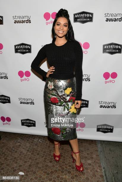 Lilly Singh at go90 Streamys After Party at Poppy on September 26 2017 in Los Angeles California