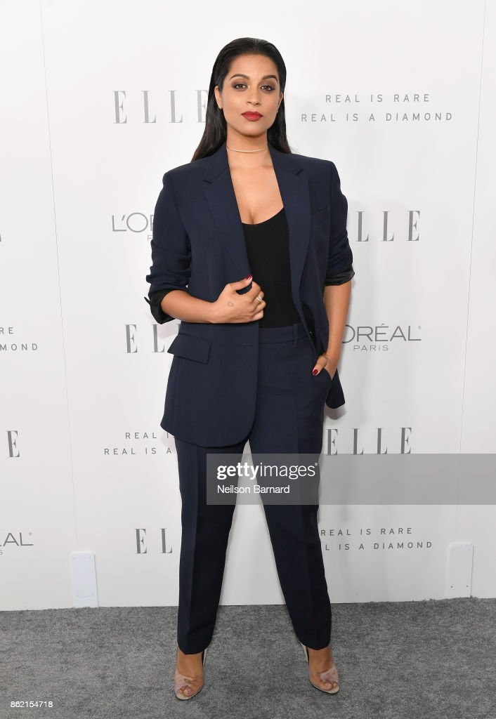 Lilly Singh attends ELLE's 24th Annual Women in Hollywood Celebration presented by L'Oreal Paris, Real Is Rare, Real Is A Diamond and CALVIN KLEIN at Four Seasons Hotel Los Angeles at Beverly Hills on October 16, 2017 in Los Angeles, California.