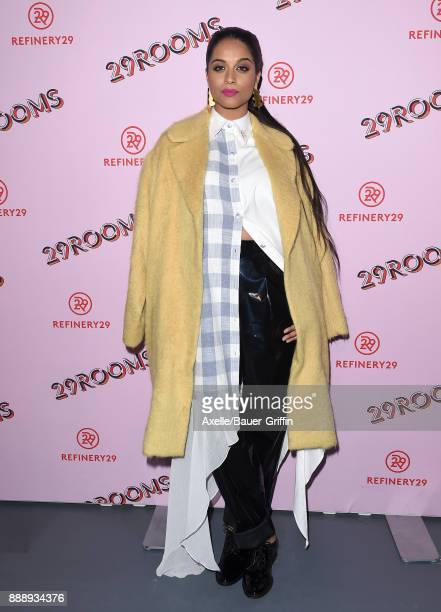 Lilly Singh attends Refinery29 29Rooms Los Angeles Turn It Into Art at ROW DTLA on December 6 2017 in Los Angeles California