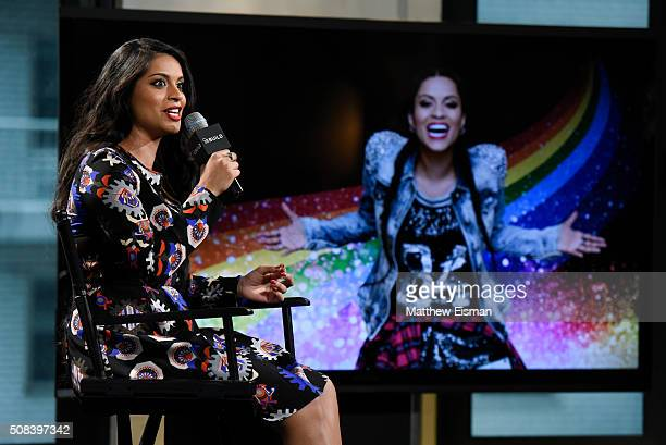 Lilly Singh discusses her hit YouTube channel 'Superwoman' and the upcoming release of her first feature film 'A Trip to Unicorn Island' at AOL...
