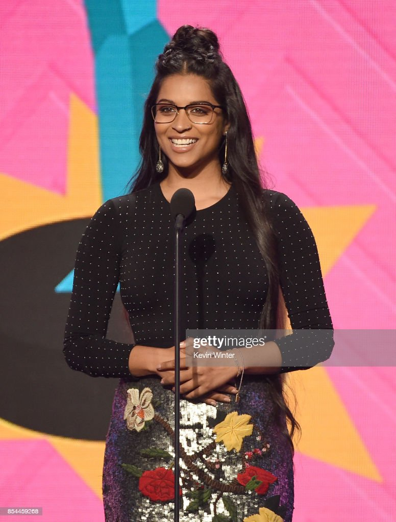 Lilly Singh onstage during the 2017 Streamy Awards at The Beverly Hilton Hotel on September 26, 2017 in Beverly Hills, California.