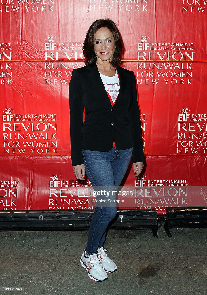 Lilly Tartikoff, Co-Founder of EIF, attends the 16th annual EIF Revlon Run/Walk for Women in Times Square on May 4, 2013 in New York City.