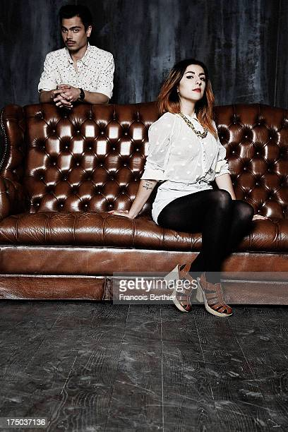 Lilly Wood and the Prick are photographed for Self Assignment on June 3 2013 in Paris France