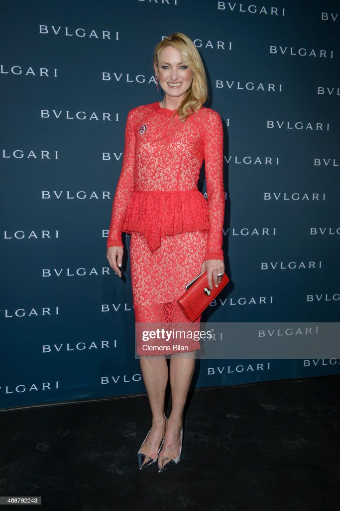 Lilly zu Sayn-Wittgenstein-Berleburg attends the 130 years of glam culture party by Bulgari at Kaufhaus Jandorf on February 11, 2014 in Berlin, Germany.