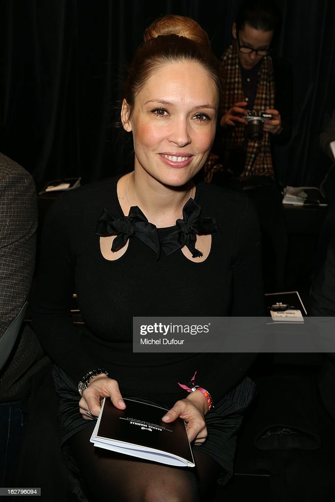 Lilou Fogli attends the Alexis Mabille Fall/Winter 2013 Ready-to-Wear show as part of Paris Fashion Week on February 27, 2013 in Paris, France.
