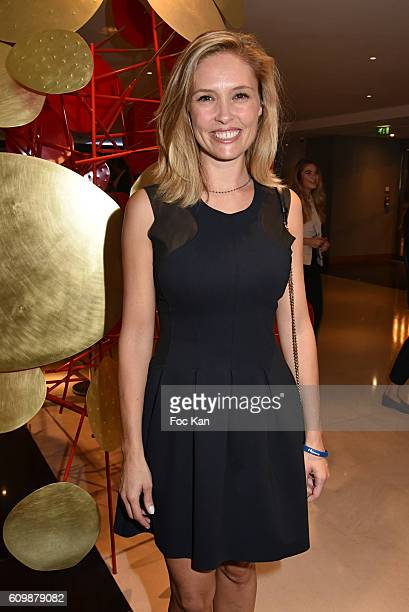 Lilou Fogli attends the Meredien Etoile Opening Party on September 22 on September 22 2016 in Paris France