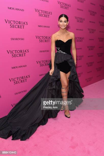 Lily Aldridge attends 2017 Victoria's Secret Fashion Show In Shanghai After Party at MercedesBenz Arena on November 20 2017 in Shanghai China