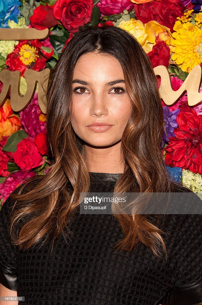 Lily Aldridge attends Ferragamo Celebrates The Launch Of L'Icona Highlighting The 35th Anniversary Of Vara at 530 West 27th Street on April 30, 2013 in New York City.